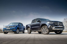 Mercedes X-Klasse, VW Amarok: Test