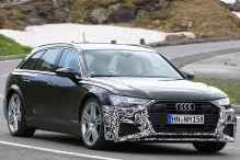 Audi RS 6 Avant (2019): Erlkönig