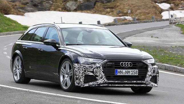 Audis neuer RS 6 düst über den Nürburgring
