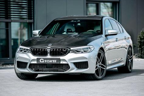 BMW M5 Tuning: Carbon-Motorhaube von G-Power