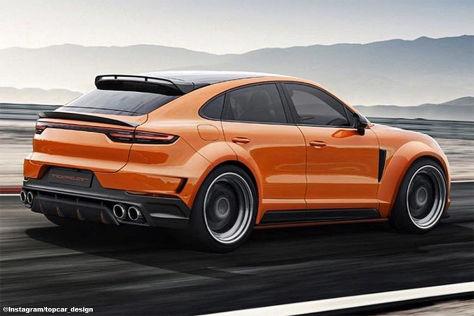 Porsche Cayenne Coupé Tuning: Top Car