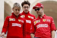 Formel 1: Neue Teile am Ferrari