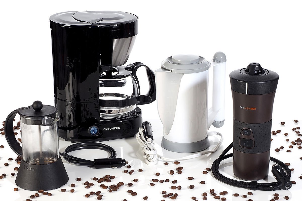 Kaffeemaschinen fürs Auto im Test
