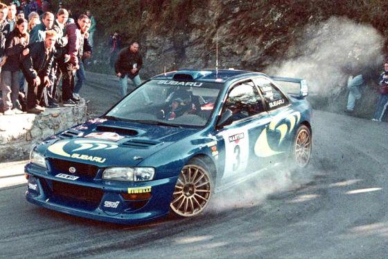 Subaru Impreza Wrx Sti Rallye Mcrae Klassiker Des Tages Autobild De