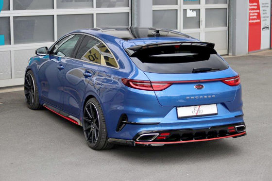 kia proceed gt giacuzzo tuning. Black Bedroom Furniture Sets. Home Design Ideas