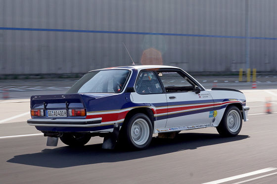 opel ascona b 400 rallye 1981 r hrl test motor. Black Bedroom Furniture Sets. Home Design Ideas