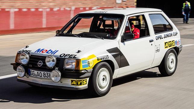 Rallye 1985 Opel Corsa