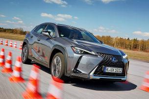 Hybrid-SUV von Lexus im Härtetest