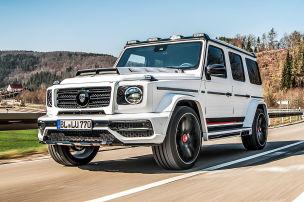 Sechs Endrohre und 24-Zöller für den Mercedes-AMG G 63