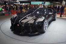 Bugatti La Voiture Noire: Ronaldo kauft teuerstes Auto