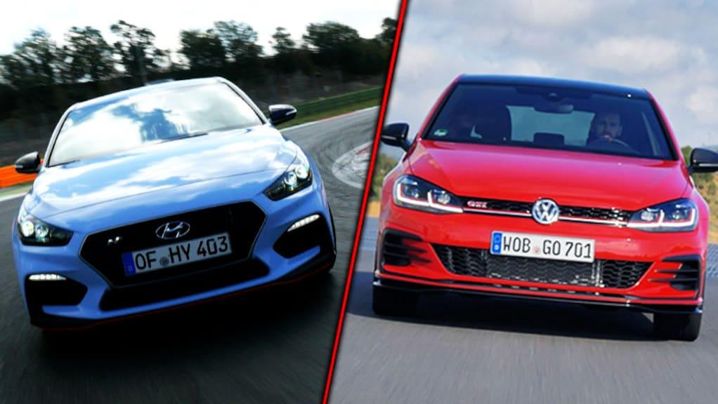 Vergleich: Golf GTI TCR vs. Hyundai i30 N Performance