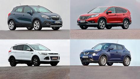 Kuga, Tiguan, XC60 und weitere Modelle im Check