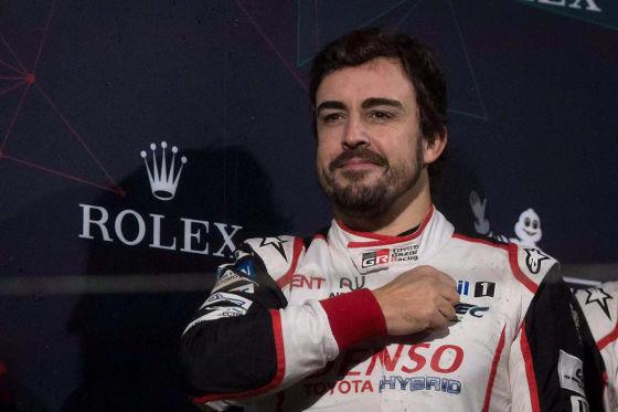 Alonso auf Abschiedstournee