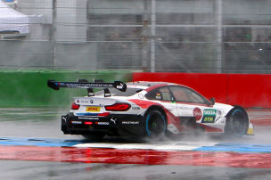 DTM: BMW-Kollision mit Rast