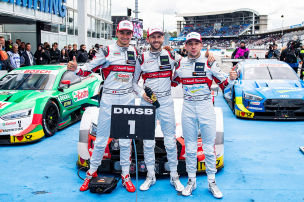DTM: Audi gewinnt am Sonntag
