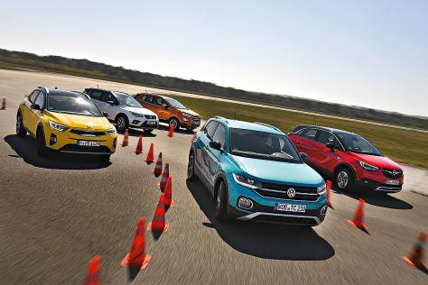 VW T-Cross hängt die Konkurrenz ab