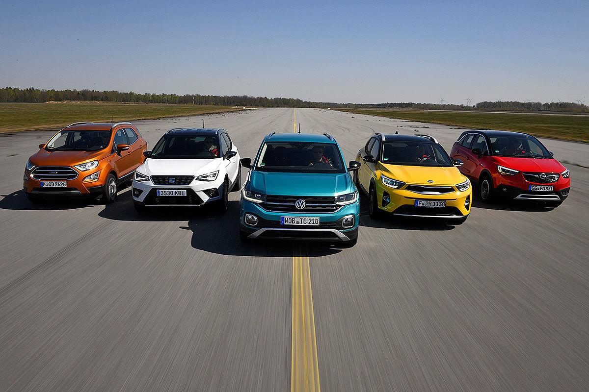 Fünf Mini-SUVs im Test