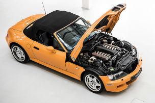 Der V12 machte den Z3 unkontrollierbar