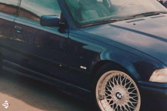 Sidney fuhr BMW 3er Coupé