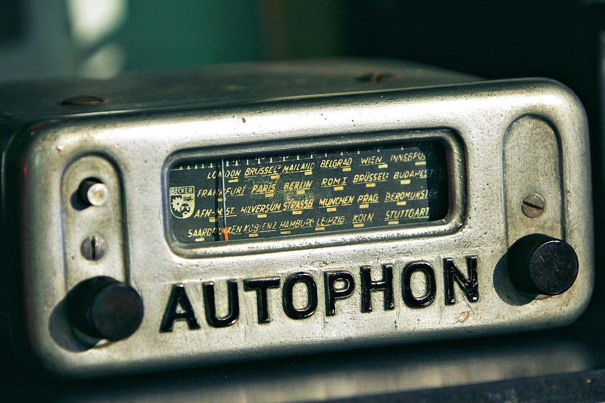 Beckers erstes Autoradio das Autophon von 1949