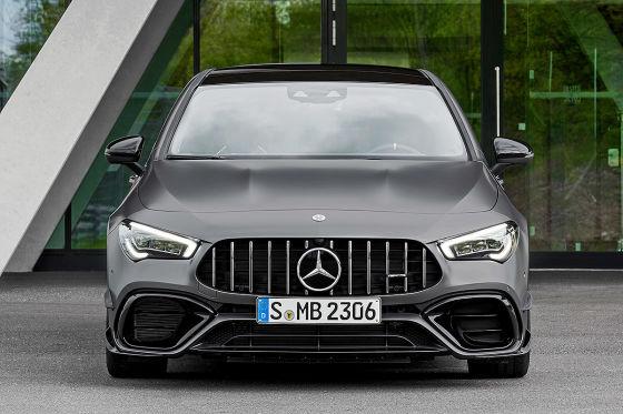 Mercedes-AMG CLA 45 geleakt
