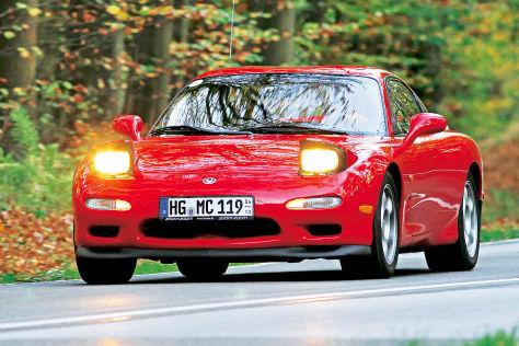 Mazda RX-7 FD: Wankelmotor, Turbo