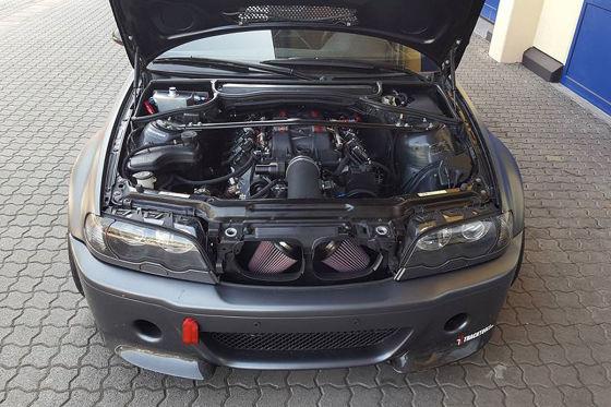 BMW M3 mit Z06-Motor und 650 PS