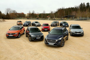 10 kleine und kompakte SUVs im Check