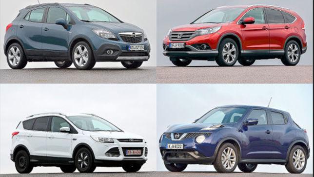 Welches Gebraucht-SUV hat die Nase vorn?