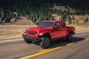 Der Jeep Gladiator ist ein echter Krieger
