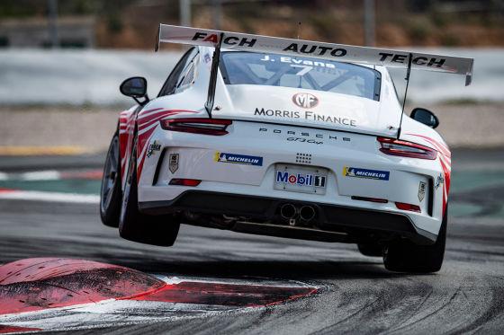 Sechs Champions kämpfen im Porsche-Cup