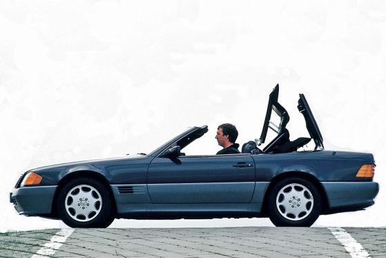 Mercedes SL 500: Klassiker des Tages