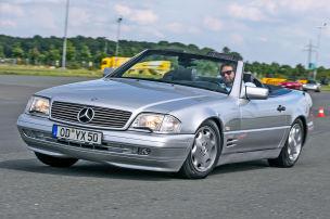 Klassiker des Tages: Mercedes SL 500