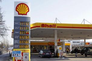 Zum Stromtanken zu Shell
