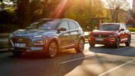 Hyundai Kona/VW T-Roc: Test