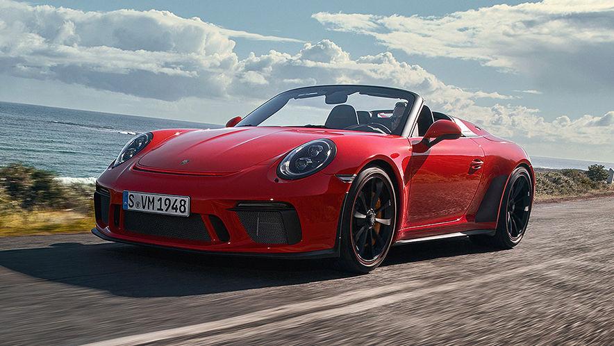Porsche 911 Speedster (2019): 991 - Test - Infos - Preis ...