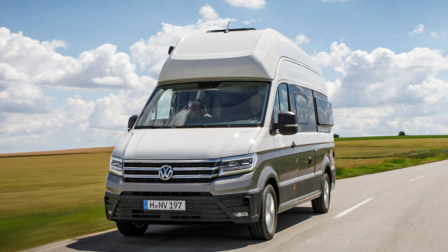 vw grand california 2019 test infos preis reise. Black Bedroom Furniture Sets. Home Design Ideas