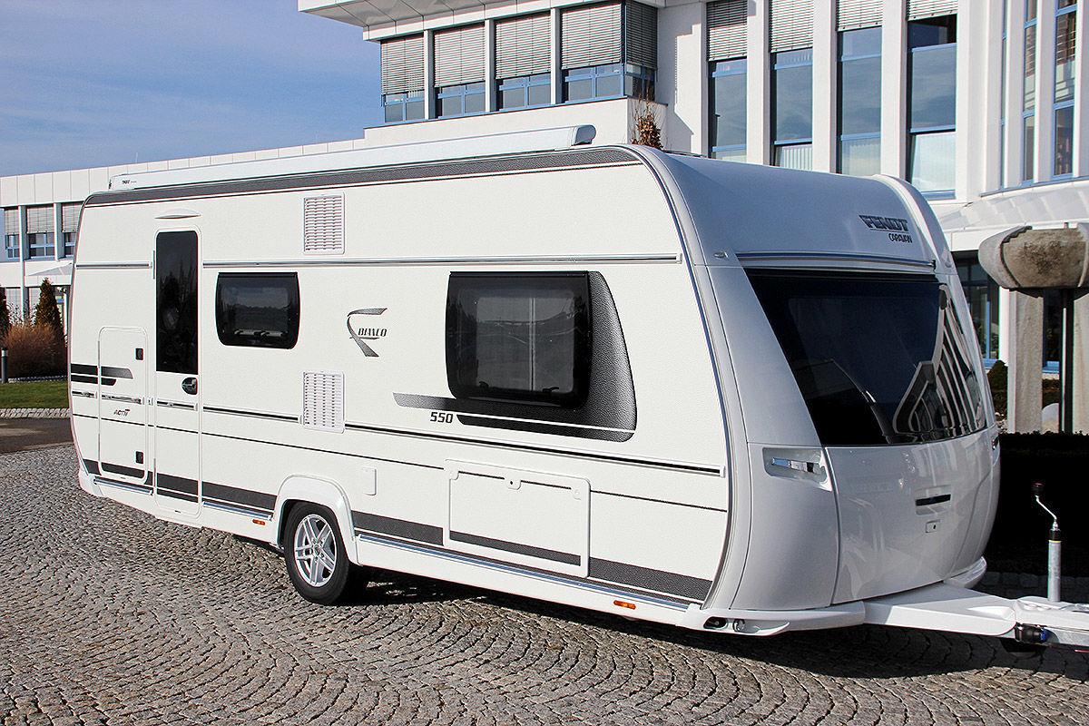 Zehn Caravans im Test