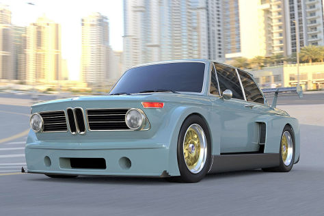BMW 2002 mit V10-Power und über 800 PS