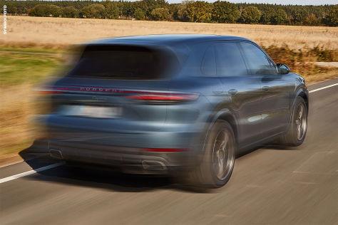 Porsche Cayenne: Raser nach Verfolgungsjagd gestoppt