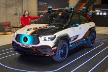 Mercedes-Benz ESF 2019: Airbag, Pre-Safe, autonom, Sicherheit