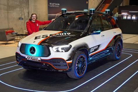 Mercedes zeigt neue Assistenzsysteme