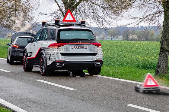 Mercedes Vision vom sicheren Auto