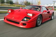 Ferrari F40: V8, Biturbo, Pininfarina