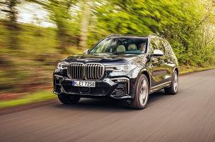 BMW X7 M50d: Test