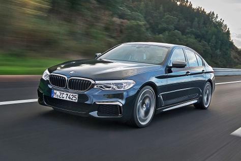 BMW M550i xDrive (G30): Modellpflege, mehr Leistung