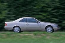 Mercedes 600 SEC (W 140): V12, Coupé