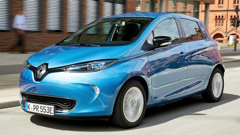 Renault Zoe mit Carsharing-Technik