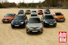 Bestseller SUVs bis 25.000 Euro