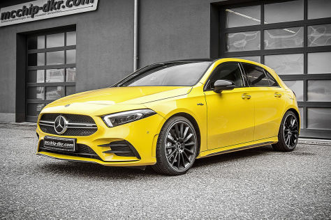 Mercedes-AMG A 35 Tuning: McChip DKR Upgrade